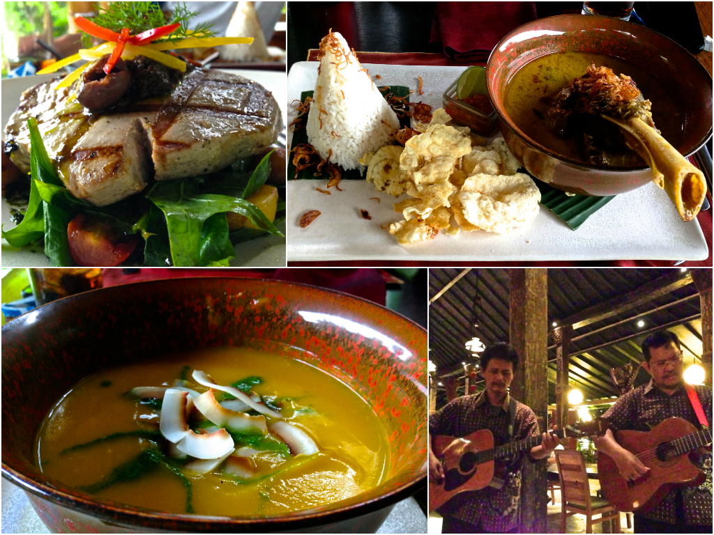 One of the perks of Sanur? The food!