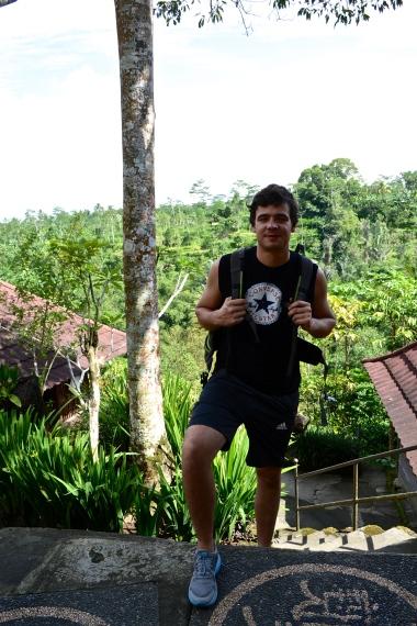 At the Luwak Plantation.