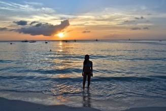 Diniwid sunset