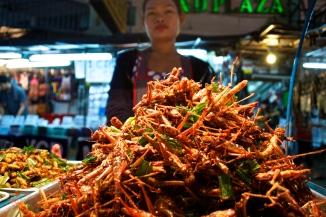 Crispy crickets, anyone?