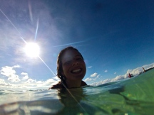 Fun in the water with the Go Pro