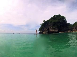 Some fun on Baling Hai beach