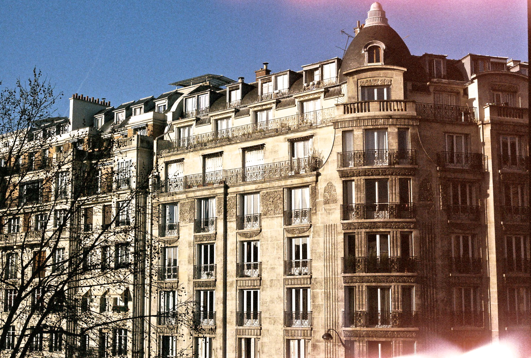 My first apartment in Paris overlooking Boulevard Gouvion St. Cyr