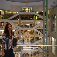At one of the many huge malls in KL. I'll I can say is the shopping IS AMAZING.