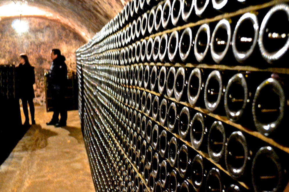 The underground cellar of rosé.