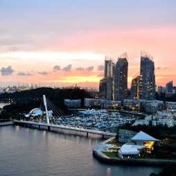 Jb's beautiful neighbor: Singapore