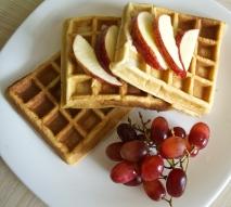 Fresh waffles!
