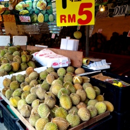 Durian for 5 ringgit.