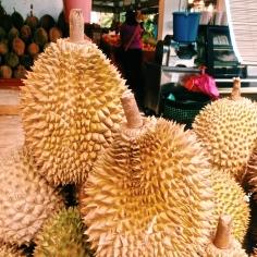 Durian- AKA the world's stinkiest fruit