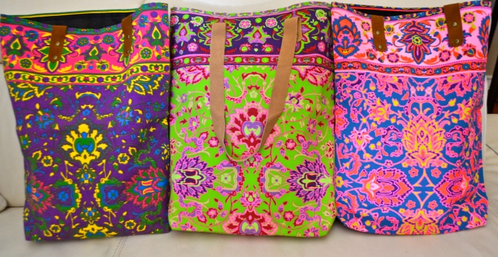 Thai Canvas Totes