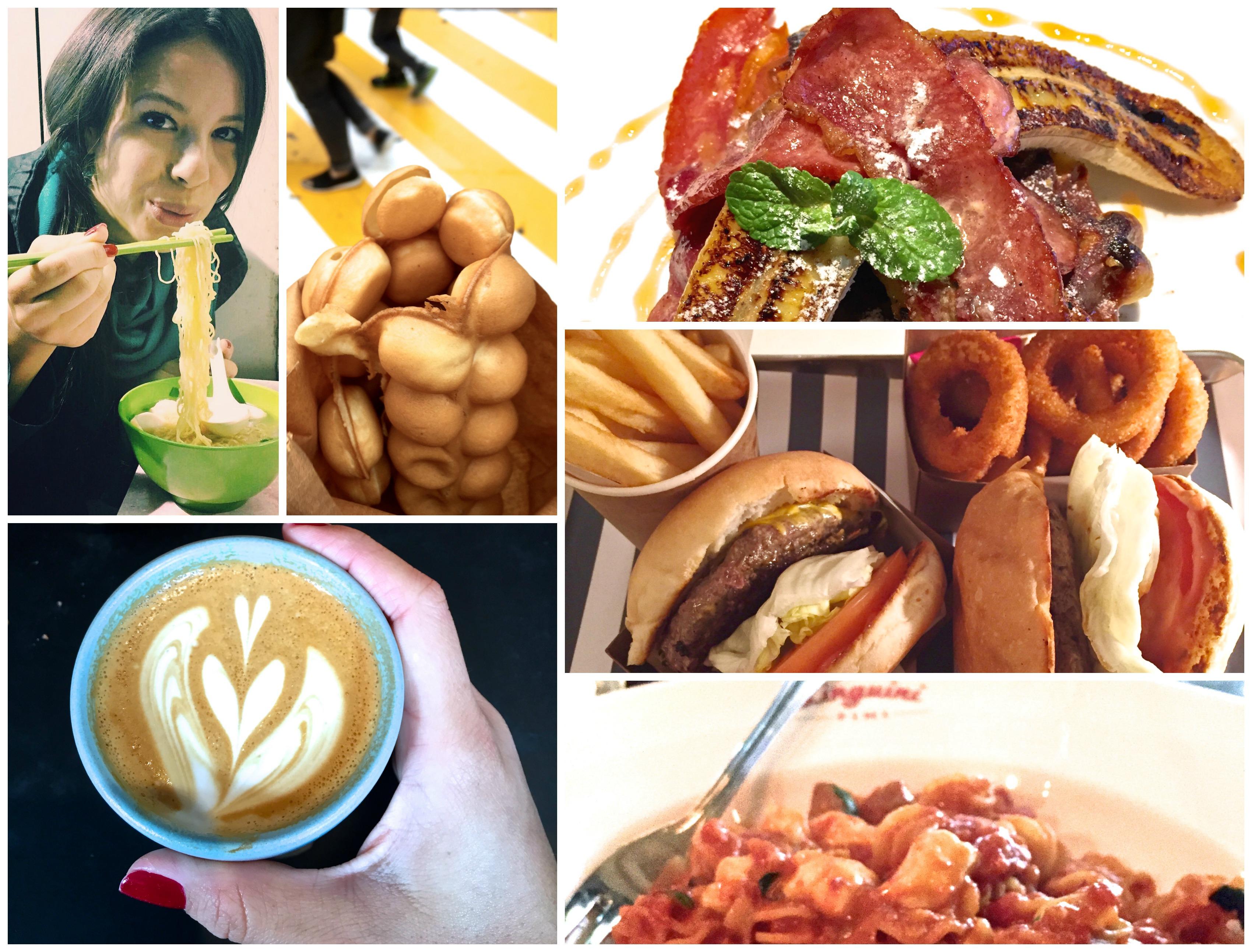 HK Food Collage