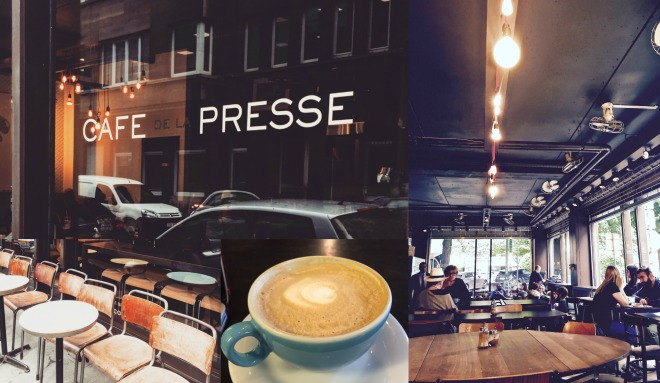 Cafe de la Presse - Brussels