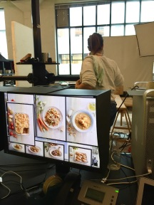 Behind the scenes of my first food styling gig