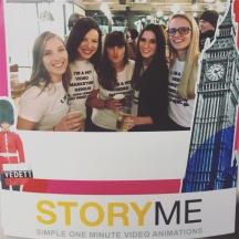 StoryMe ladies in London