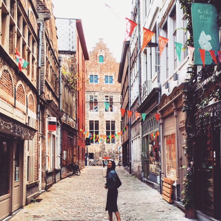 Exploring all the straats