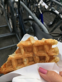 Waffles here are just as good as everyone says they are