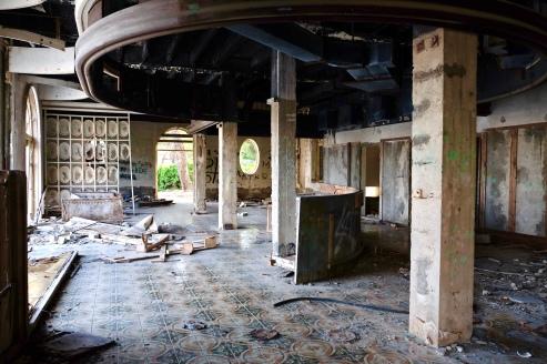 Kupari abandoned hotel