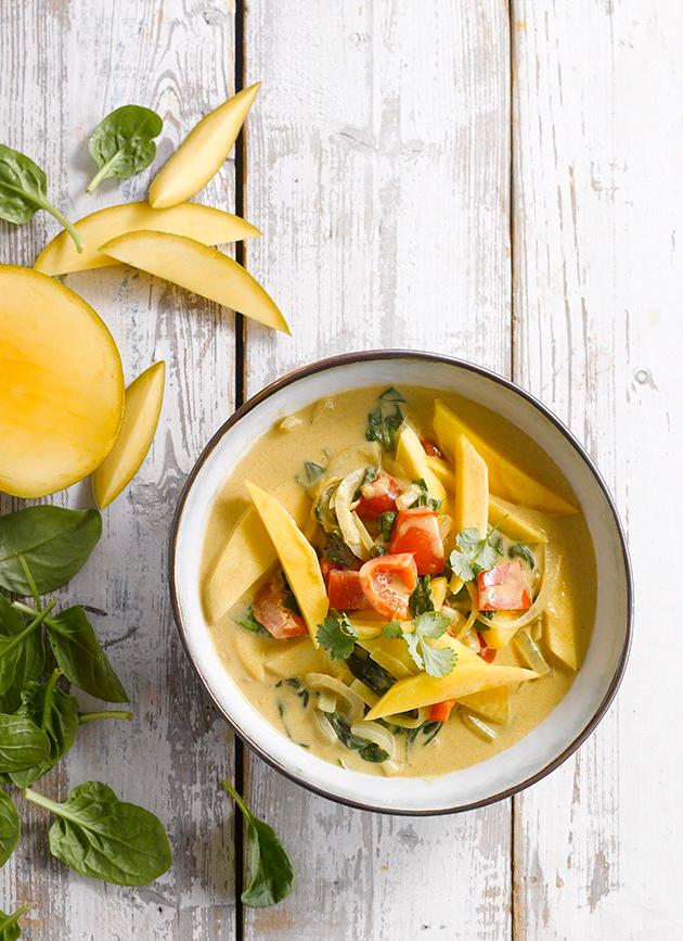 Thai Green Curry w/ Mango recipe