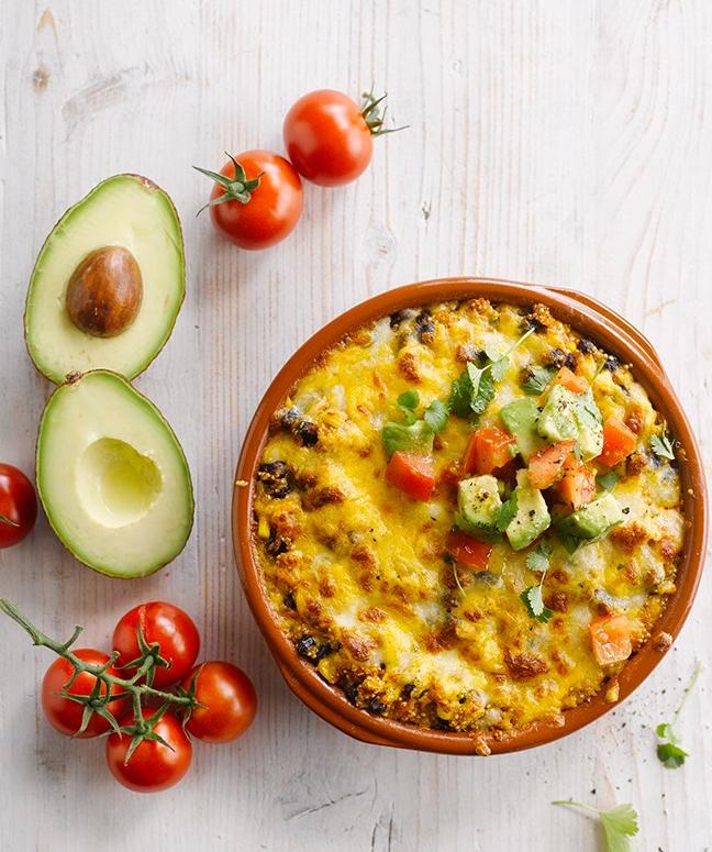Veggie quinoa bake recipe