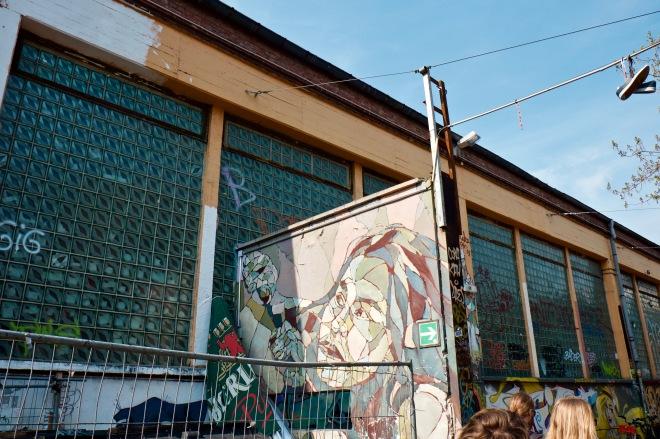 Berin's art district, Friedrichshain