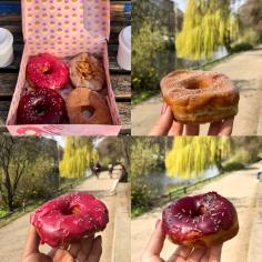 Vegan donuts from Brammibal's Donuts